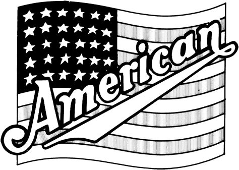 Flag Coloring Pages Printable