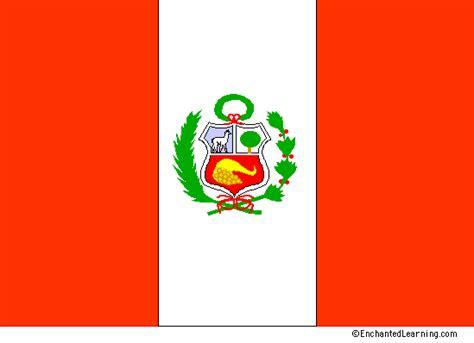 Flag of Peru EnchantedLearning