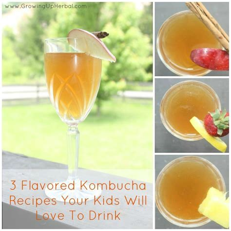 Flavored Kombucha Recipes Your Kids Will Love Homemade Mommy