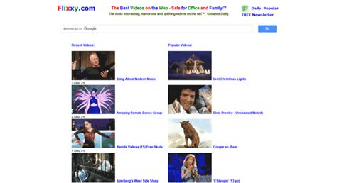 Flixxy The Best Videos On The Web Safe for Office