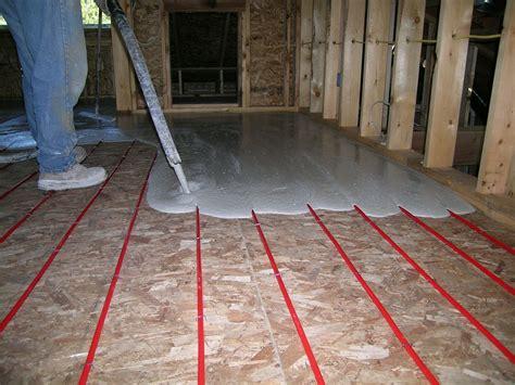 Floor Heat Hydronic Under Floor Heating Easy Radiant