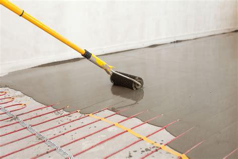 Floor Heating Radiant Heating for all Floor Coverings