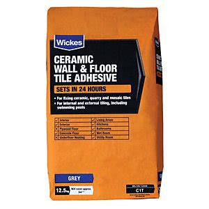 Floor Tile Adhesives Tile Adhesive Grout Wickes