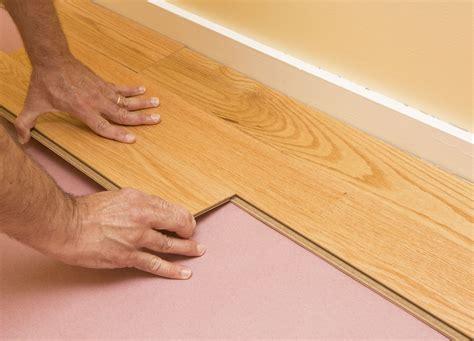 Flooring Underlay DIY