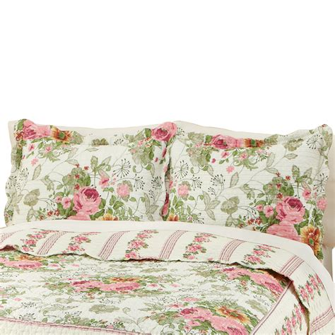 Floral Bella Rose Pillow Sham from Collections Etc