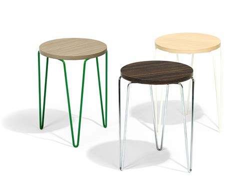 Florence Knoll Hairpin Stacking Table Knoll