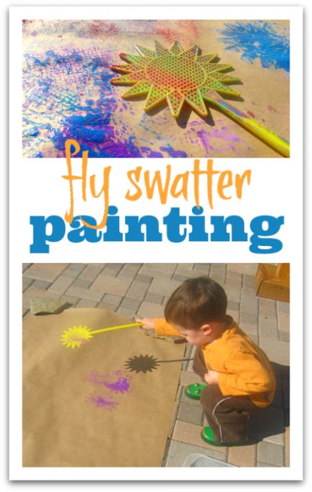 Fly Swatter Painting No Time For Flash Cards