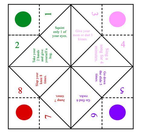 Fold a Fortune Teller Easy Origami Tutorial Dream a