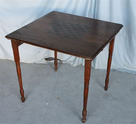 Folding Game Table eBay