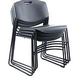Folding Stacking Chairs Quill