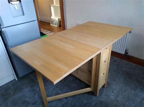 Folding table ikea For sale Yakaz