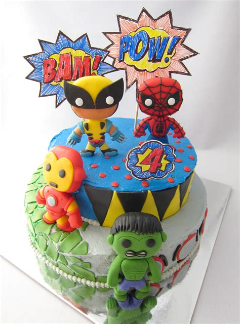 Fondant Marvel Superheroes 5 Steps with Pictures