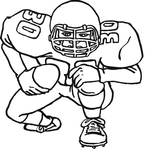 Football Coloring Pages Free Printables for Kids