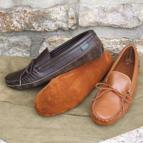 Footwear by Footskins Leather moccasins comfortable