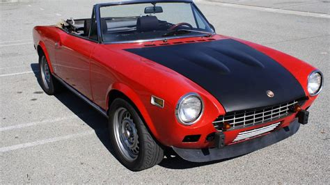 For 8 000 Could This 1975 Fiat 124 Spider Be Your Baby