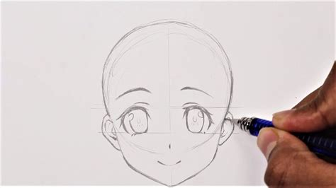 For Beginners How To Draw Girl Anime Manga face YouTube