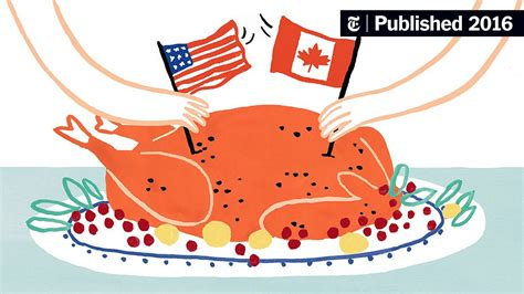For Canadians Thanksgiving Is a Quieter Affair in