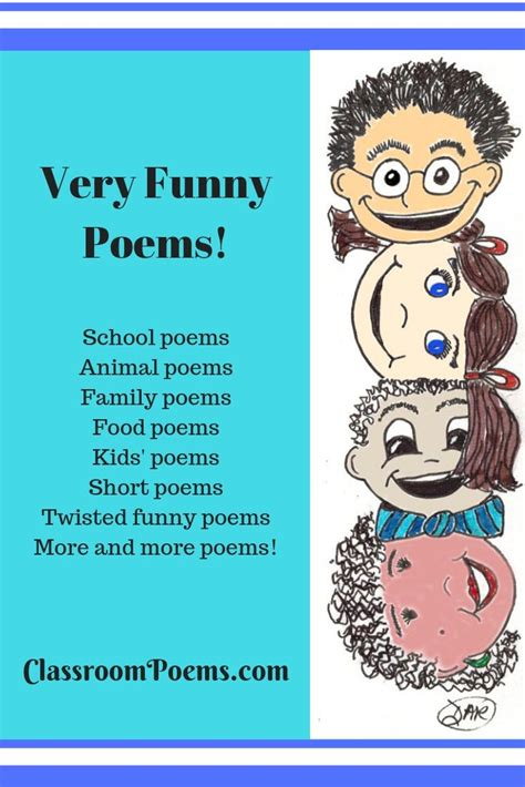 For Kids Funny Poems Examples of For Kids Funny Poetry
