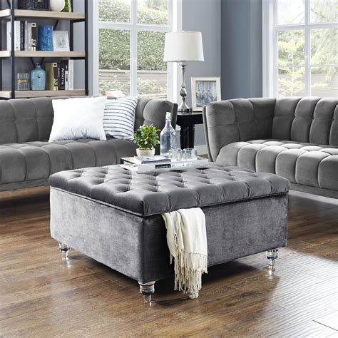 For Living Ottoman Coffee Table with Storage Canadian Tire