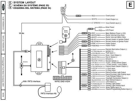 Ford Car Alarm Wiring Information