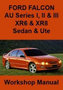 Ford Falcon Workshop Repair Manuals