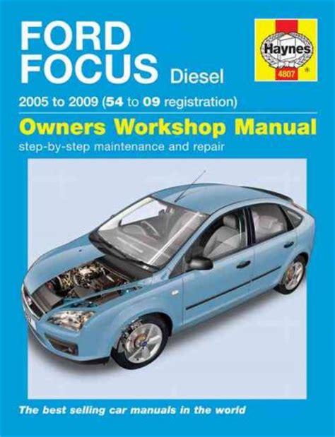 Ford Focus 2000 2005 Workshop Service Repair Manual