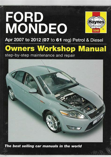 Ford Mondeo Service Manual Car and Motorcycle
