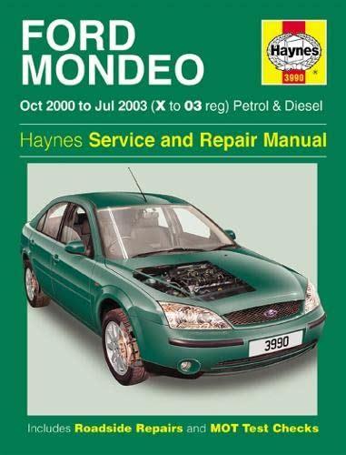Ford Mondeo Service and Repair Manual PDF Drive
