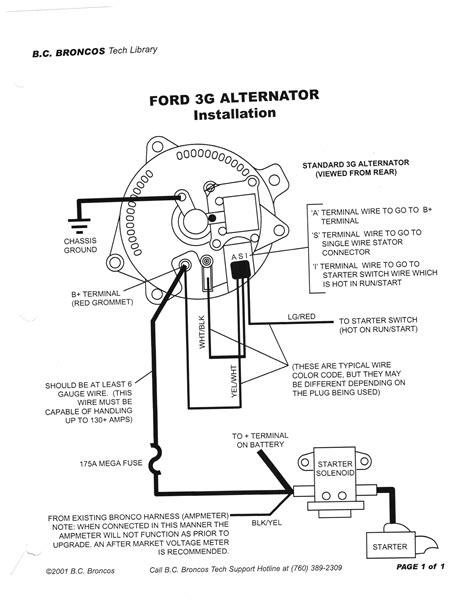 motorcraft alternator electrical wiring diagram images ford motorcraft alternator wiring diagram circuit and