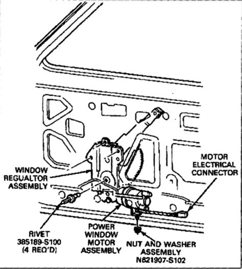 dorman power window switch wiring diagram images power door lock ford ranger window motor replacement ford circuit wiring