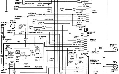 Ford Wiring Information the12volt