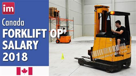 Forklift Driver Salary PayScale