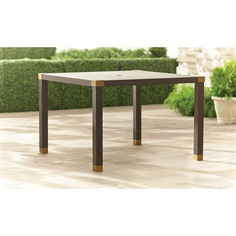 Form 42 in Square Patio Dining Table The Home Depot