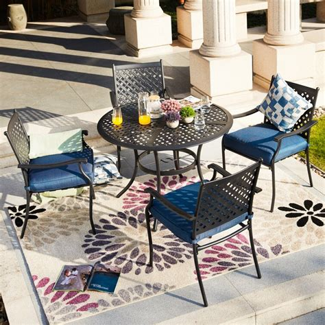 Four Person Patio Dining Sets Wayfair