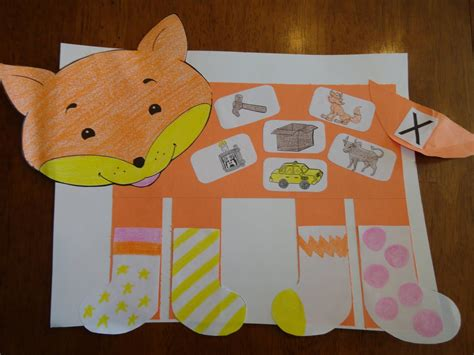 Fox in Socks Lesson Plans Worksheets Recipes Crafts