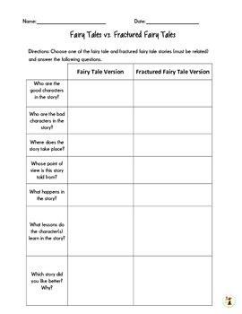 Fractured Fairy Tales Unit Dawn Prescott