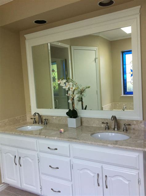Framed Bathroom Mirrors Pinterest