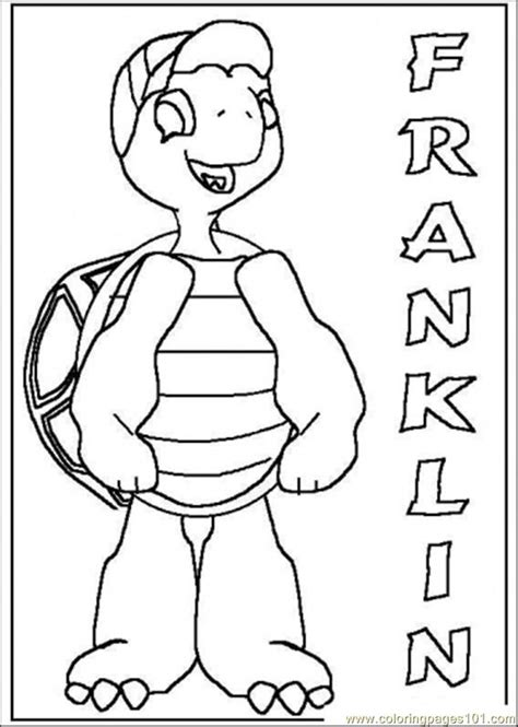 Franklin coloring pages on Coloring Book info
