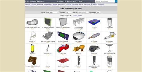 Free 3D Models 3D CAD Browser