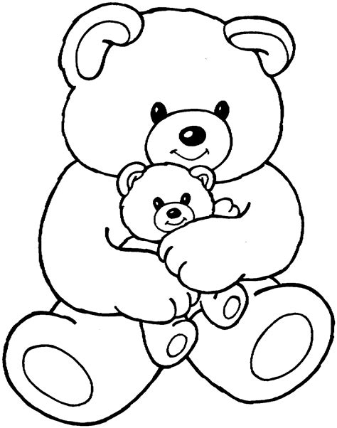 Free Bear Coloring Pages About Bears