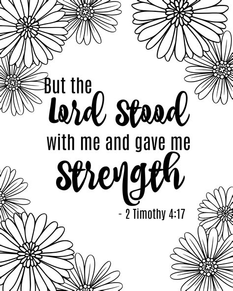 Free Bible coloring pages with printable scripture
