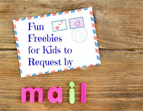 Free Children Samples Freebies in the mail