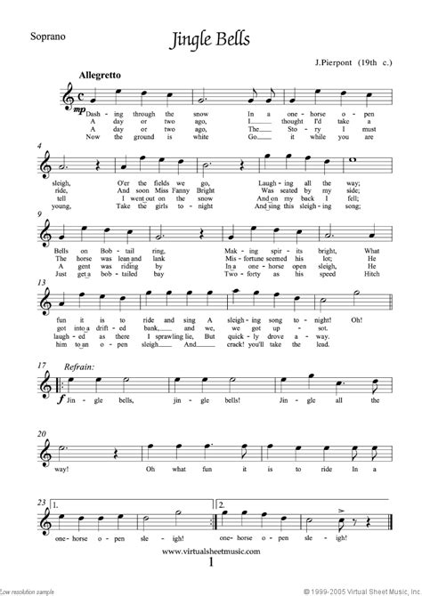 Free Christmas Choral Sheet Music