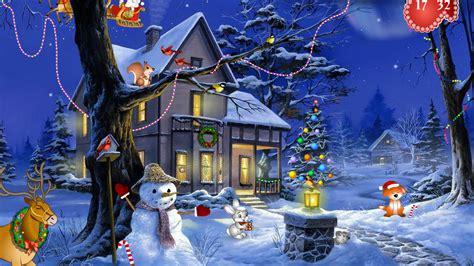 Free Christmas Screensaver SaversPlanet