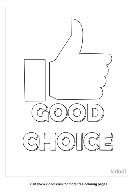 Free Coloring Pages Color Me Good
