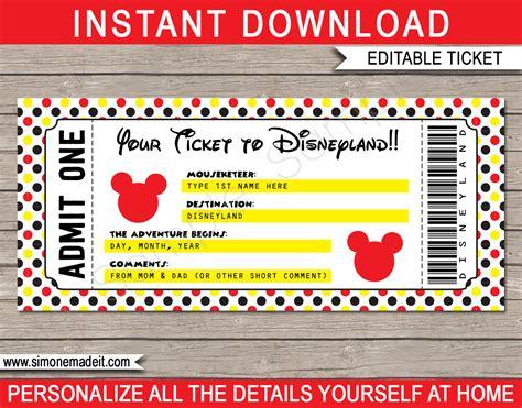 Free Disney Tickets