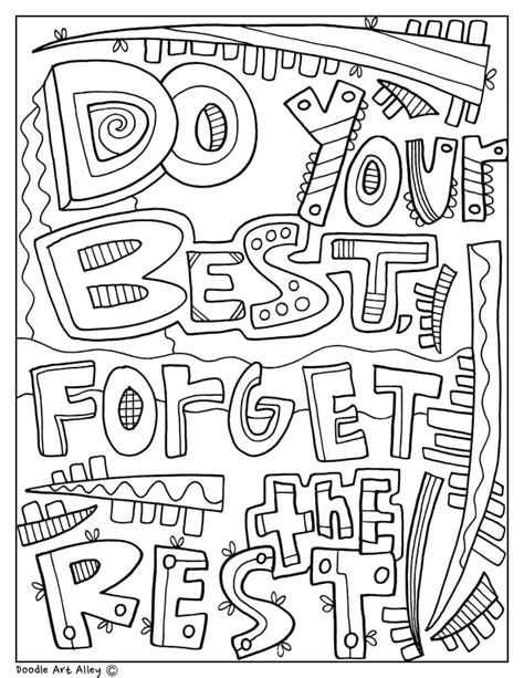 Free Do It Yourself Coloring Pages Today s Arts
