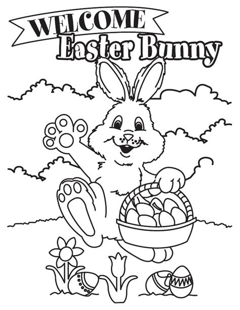Free Easter coloring pages Easter printables cute colour