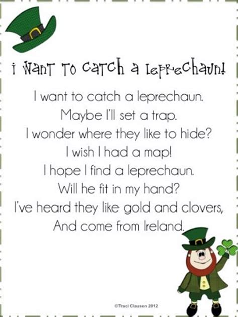 Free Funny Irish St Patrick s Day Stories Poems Songs
