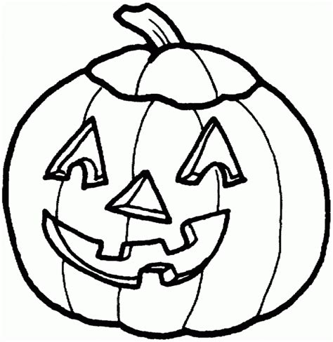Free Halloween Pumpkins Coloring Pages